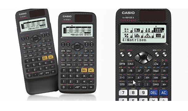 Calculadora técnico científica Casio