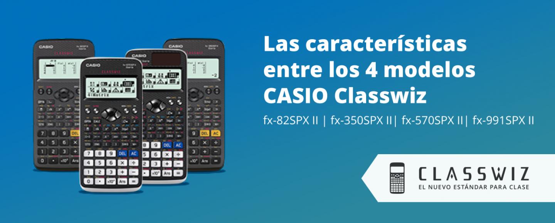 e07ddff0b2c6 Diferencias entre los 4 modelos de CASIO ClassWiz