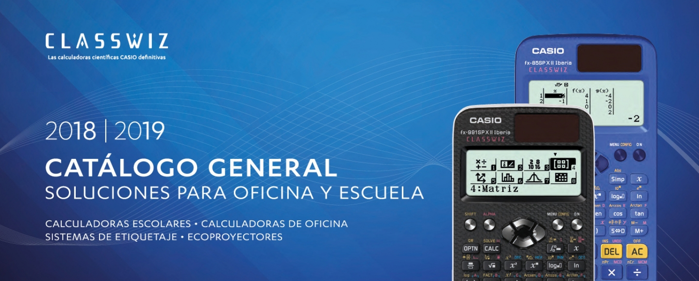 bcd146a0e878 Presentamos el nuevo catálogo de calculadoras CASIO