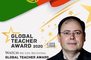 José Jorge Da Silva Teixeira, Global Teacher Award 2020